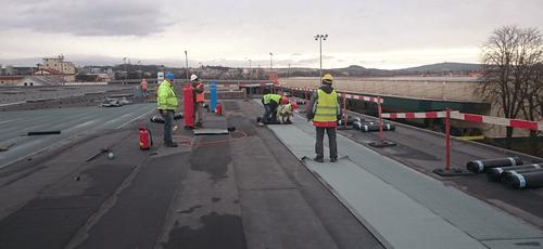 asfaltové střechy