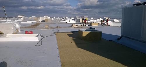 foliové střechy